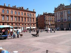 Traveling Through Toulouse