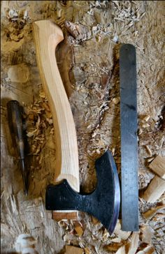 Forging Tools, Blacksmithing Knives, Wood Axe, Axe Handle, Viking Axe, Beil, Axe Head, White Spirit, Battle Axe