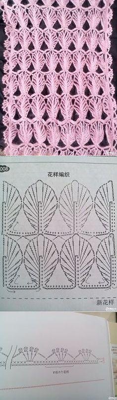 Узоры для вязания крючком.