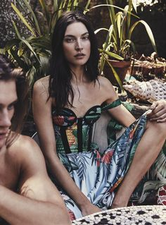 Vogue Australia February 2017 Jacquelyn Jablonski, Jesse Gwin and Bella Brown by Nicole Bentley