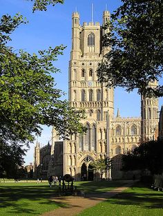 Ely Cathedral, Ely, Cambridgeshire, ENGLAND