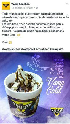 Cliente: Vamp Lanches Agência: Guia Comunicação Texto e briefing da imagem: Fernanda Sinfronio