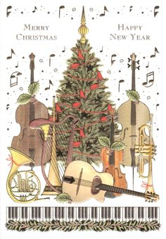 mac classic greetings card christmas music 300 - Christmas Classical Music