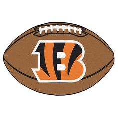 Cincinnati Bengals Touchdown Football Area Rug