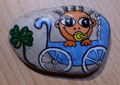 Malování na kameny - Miminko (kameny_007.jpg)
