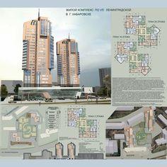 Проект: жилой комплекс — Marina Seo — MyHome.ru