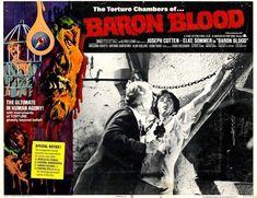 Horror Movie Posters, Horror Movies, Joseph Cotten, Vintage Horror, Baron, Screenwriting, Filmmaking, Sci Fi, Artist