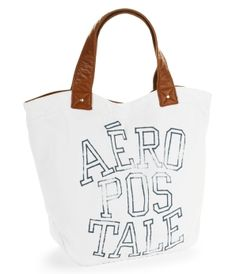 Aero 87 Wave Canvas Tote. Girls Bags & Wallets - Tote Bags for Girls   Aeropostale. $15.80 this might be good for the beach