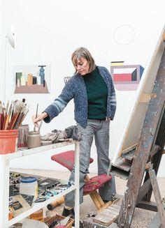 Painter, Designer Co-Founder of Memphis - Nathalie Du Pasquier