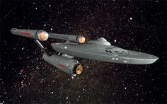 USS Enterprise NCC-1701, Star Trek TOS, Matt Jefferies, 1966-1967