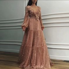 Fashion Sexy V Neck Sequins Evening Party Maxi Dresses – Owily Cheap Prom Dresses, Maxi Dresses, Style Lolita, Cocktail Dress Prom, Maxi Robes, Sexy, Lolita Fashion, Formal Gowns, Dress Brands