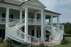 Evergreen Plantation, featured in Django and many other movies.