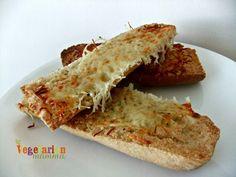 Cheesy Galic Bread gluten free vegetarianmamma.com