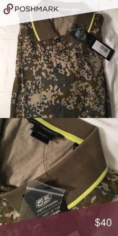 Diesel men polo t shirt Diesel men polo shirt ! Army pattern!! New!! My fav!! Xxl diesel  Shirts Polos