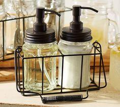 Mason Wire Soap & Lotion Caddy | Pottery Barn