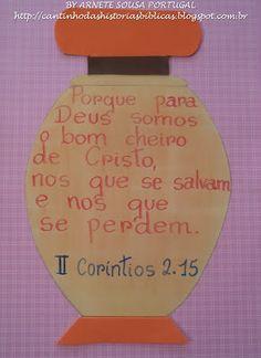 CANTINHO DAS HISTÓRIAS BÍBLICAS: VERSICULOS VISUALIZADOS