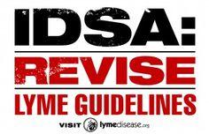 "Protesting IDSA's ""Lyme denialism"" in San Francisco, Oct. 5"