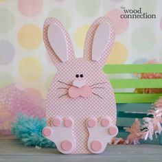 The Wood Connection - Sitting Bunny, $8.95 (http://thewoodconnection.com/sitting-bunny/)