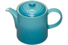 Le Creuset Stoneware Grand Teapot in Teal