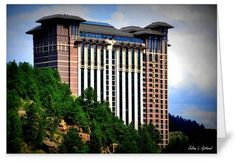 "The Ameristar Casino Resort Spa, Black Hawk, CO. 5"" x 7"" card. Promotional use only - not for resale."