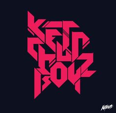 KETCHUPBOYZ (DJ LOGO) by Baz S. Thongpravati, via Behance