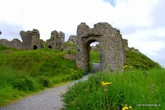 Gatehouse at the Rock of Dunamase, Co. Laois, Ireland. It's 13th century in date.