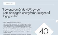 Typography sample: Futura on rosendaluppsala.se (posted by @Mike Stenhouse) #typography #webfonts #like #minimal #architecture #brochure