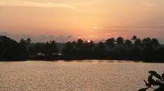 Sunset in kollam