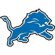 detroit lions logo american football team in the nfc north division rh pinterest com Detroit Lions Logo History free vector detroit lions logo