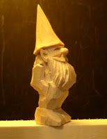 Beginners Carving Corner and Beyond: Three Inch Gnome