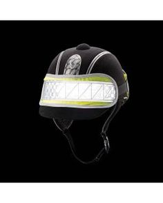 Harry Hall Hi Viz Hat Band - this superb reflective, highly visible hat band from Harry Hall will make sure you stand out in low light and darkness when riding Equestrian Supplies, Women's Equestrian, Equestrian Outfits, Equestrian Collections, Horse Riding Clothes, Horse Gear, Goodie Bags, British Style, Sling Backpack