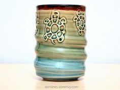 I've opened an etsy ♡ https://www.etsy.com/listing/223132475/glossy-rainbow-glaze-ceramic-tea-cup