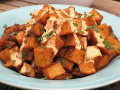 patatas bravas; I have made these SEVRERAL times with many compliments. Great side for a mexican fiesta