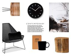 """""""Contemporary Home"""" by canvas-moods ❤ liked on Polyvore featuring interior, interiors, interior design, home, home decor, interior decorating, Thos. Baker, Pottery Barn, iittala and Lemnos"""