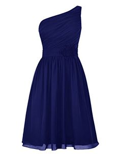 DresSeagle One-shoulder Flower Decorate Pleated Bridesmaid Homecoming Dresses Royal US 2 DresSeagle http://www.amazon.com/dp/B015H2E5M4/ref=cm_sw_r_pi_dp_IyZKwb0DN46CJ