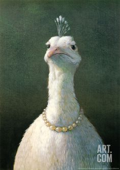 Fowl with Pearls, by Michael Sowa