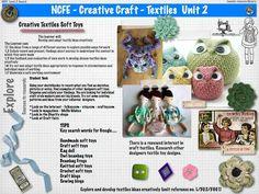 AS WJEC Textiles   Creative Crafts Unit 2 A Level Textiles, Textile Products, Creative Textiles, Study Design, Textiles Techniques, Educational Technology, Creative Crafts, Briefs, Sewing Ideas
