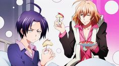 Misono and snow lily