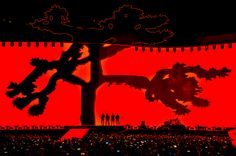 U2 performs on The Joshua Tree Tour at Levi's Stadium on May 17, 2017 in Santa Clara, Calif.