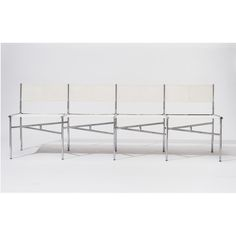 Meeting Chairs - 4 Batyline Seats | Rossana Orlandi