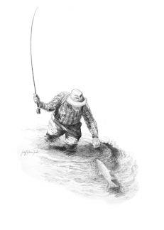 Pencil- Craig Bertram Smith  #flyfishing #fly #fishing