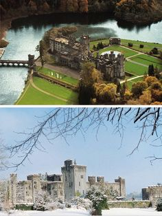 Sunny and Snowy! Explore Ashford Castle's beautiful scenery all year long and maybe even come back at different seasons for all new experiences and sights.