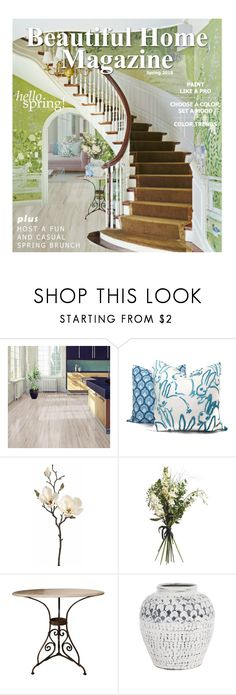 """Beautiful Home Magazine (Spring edition)"" by annacullart ❤ liked on Polyvore featuring interior, interiors, interior design, home, home decor, interior decorating, Wyld Home, Herend, contestentry and positivelyartistic"