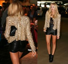 cute outfit idea for the club, girls night out, or a date! <3 love this look