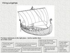 Viking longboat worksheet - 'True or False?' activity about Viking longboats.