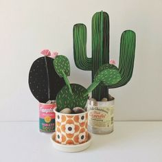 cardboard cactus by Beci Orpin