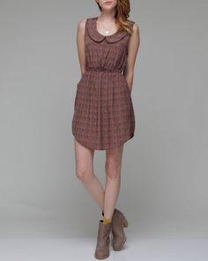 wiksten tank dress with peter pan collar