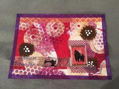 Johanna Creates Something Every Day: Post Card Art for Fall #diypostcardswap