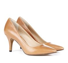 Sole Society >> Love this simple heel, not too tall and would go with pretty much everything!