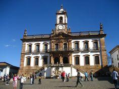Museu da Inconfidência, localizado no edifício da antiga Casa de Câmara e Cadeia, em Ouro Preto.